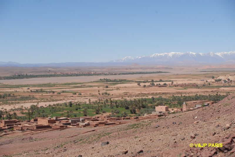 Atlas road between Marrakech and Tazzarine