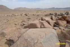 Aït Ouazik, Rock engravings
